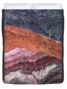 The Hill Of Seven Colors Argentina Duvet Cover