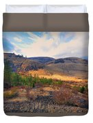 The Hills Duvet Cover