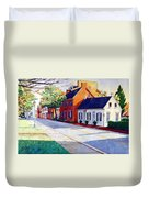 The Historic District Duvet Cover