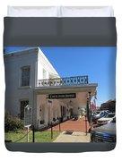 The Historic Excelsior Hotel Jefferson Texas Duvet Cover