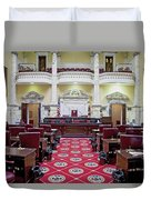 The Historic House Chamber Of Maryland Duvet Cover