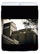 The Historic Lemp Brewery Duvet Cover