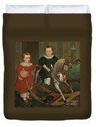 The Hobby Horse Duvet Cover