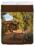 The Hogan Canyon Dechelly Park Duvet Cover
