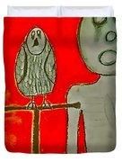 The Hollow Men 88 - Bird Duvet Cover