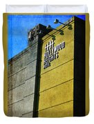 The Hollywood Heights Hotel Duvet Cover