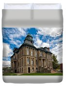 The Holmes County Courthouse Duvet Cover