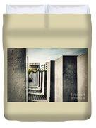 The Holocaust Memorial Berlin Germany Duvet Cover