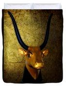 The Holy Cow Duvet Cover by Olga Hamilton
