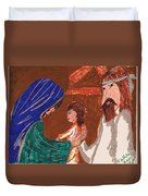 The Holy Family Duvet Cover