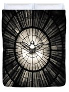 The Holy Spirit As A Dove Duvet Cover