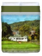The Homestead Country Club Duvet Cover