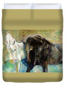 The Horse As Art Duvet Cover
