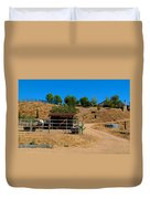 The Horse Ranch 2 Duvet Cover