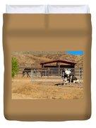 The Horse Ranch 3 Duvet Cover