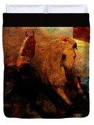 The Horses Of Mars Duvet Cover