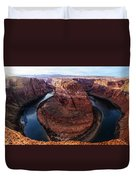 The Horseshoe River At Ultra High Resolution Duvet Cover