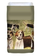 The Hounds Duvet Cover
