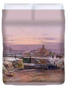 The House By The Canal Duvet Cover
