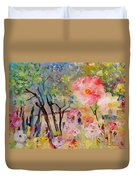 The House Of The Rising Flowers Duvet Cover