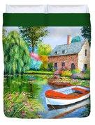 The House Pond Duvet Cover