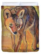 Coyote Hunting Duvet Cover