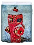 The Hydrant Duvet Cover