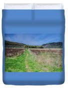 The Ice Age Trail Duvet Cover by Jonah  Anderson