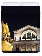 The Illumination Of Saint Louis Ix Duvet Cover