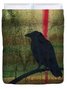 The Impossibility Of Crows Duvet Cover