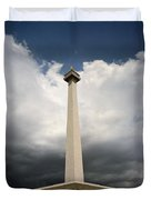 The Independence Monument Duvet Cover