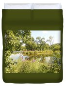 The Indiana Wetlands 2 Duvet Cover
