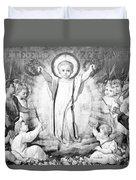 The Infant Jesus Duvet Cover
