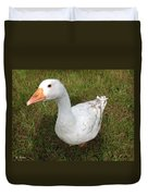 The Inquisitive Goose Duvet Cover