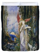 The Inspiration  Duvet Cover by Gustave Moreau