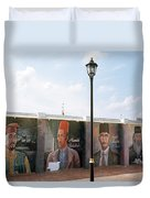 The Intellectuals Duvet Cover