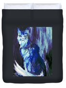 The Intuitive Silence Trembling With A Name Duvet Cover