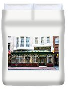 The Irish Pub - Philadelphia Duvet Cover