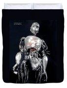 The Iron Robot Duvet Cover