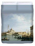 The Island Of San Giorgio Maggiore Duvet Cover