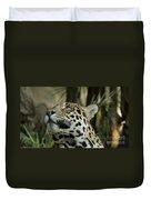 The Jaguar's Gaze Duvet Cover