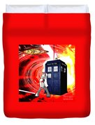 The Japanese Dr. Who Duvet Cover