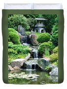 The Japanese Garden Duvet Cover by Bill Cannon