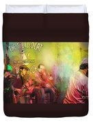 The Jazz Vipers In New Orleans 03 Duvet Cover