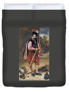 The Jester Named Don John Of Austria Duvet Cover