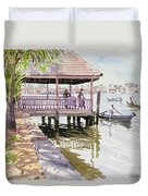 The Jetty Cochin Duvet Cover