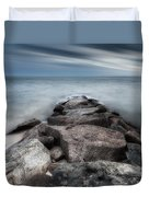 The Jetty Square Duvet Cover