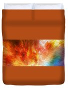 The Journey - Abstract Art By Sharon Cummings Duvet Cover