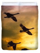 The Journey South Duvet Cover