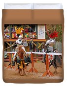 The Jousters 3 Duvet Cover